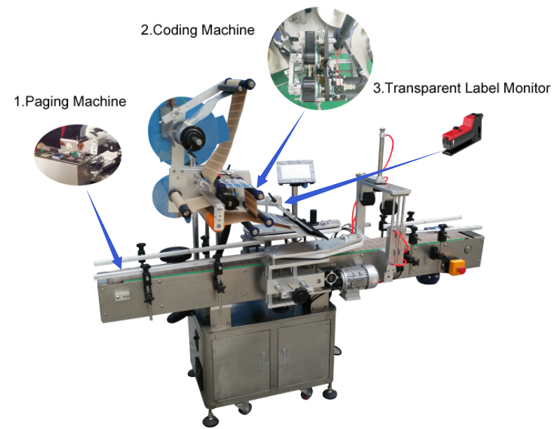 flat surface labeling machine, plane labeling machine