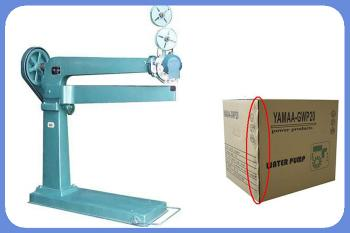 Carton stapler stapling machine