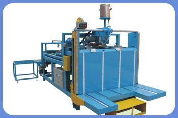 Semi-auto folding and gluing machine  carton box making machine
