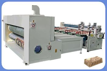 Automatic Rotary Die Cutting Machine pizza box making machine