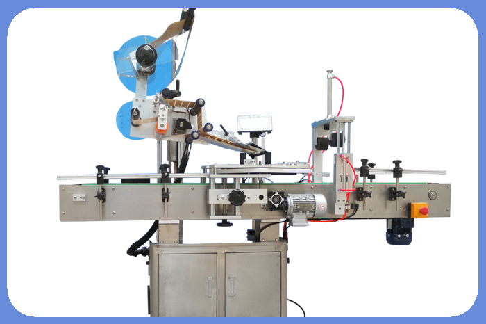 Semi-automatic Plane Labeling Machine