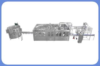 5000 BPH juice with pulp plastic bottle rinsing filling,capping machine line with a high integrated system