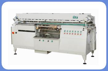 Automatic round tin can glue labeling machine for 50 bottles per hour