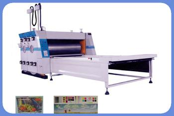 ZSY-B Carton box printing machine Electrical Image Positioning Water Printing and Sub Pressing Machine