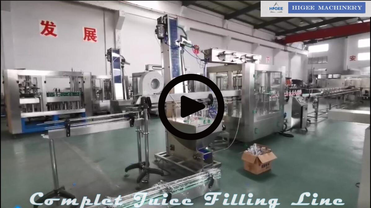 small fruit juice filling packing machine line