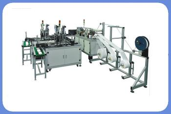 Surgical non woven mask making machine dust-mask-making-machine 3ply mask machine