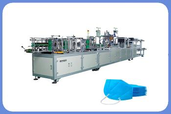 Automatic Ffp2 N95 Foldable Hospital 3M Face Mask Making Machine